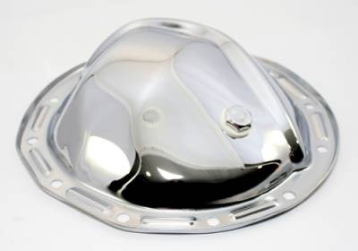 Transmissions, Rearends, & Gears  - Differential Covers - Assault Racing Products - GM Chevy Chrome Steel Rear Differential Cover 12 Bolt