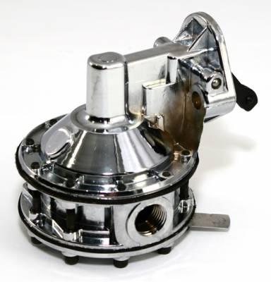 "Fuel System & Components - Mechanical Fuel Pumps - Assault Racing Products - High Volume SBC Chevy 350 6-Valve Mechanical Fuel Pump 130GPH 12-16 PSI 1/2"" NPT"