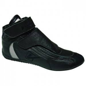 Safety & Seats - Shoes - Velocita - BLACK Velocita Sprint Driving Racing Shoes SFI Leather/Nomex