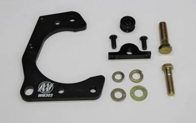 Steering & Suspension - Wehrs Machine - Wehrs Machine WM303 Caliper Bracket Metric Mustang II / Pinto