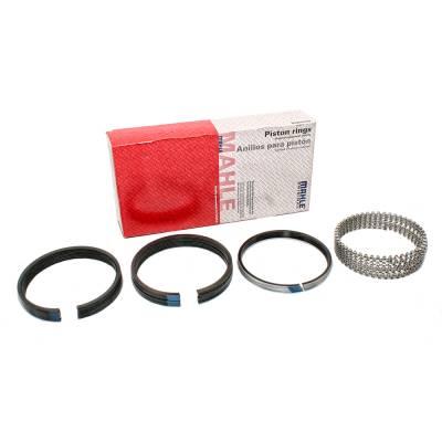"- Mahle 40141CP.060 Moly Piston Ring Set 4.185"" Bore .060 Oversize Chevy 400 SBC"