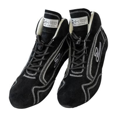 Zamp - ZAMP ZR-30 SFI 3.3/5 Race Shoe Black Size 10 RS00100310