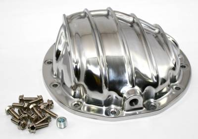Transmissions, Rearends, & Gears  - Differential Covers - Assault Racing Products - Polished Aluminum Finned Differential Cover Chevy GM 12Bolt 12 Bolt Rear Axle