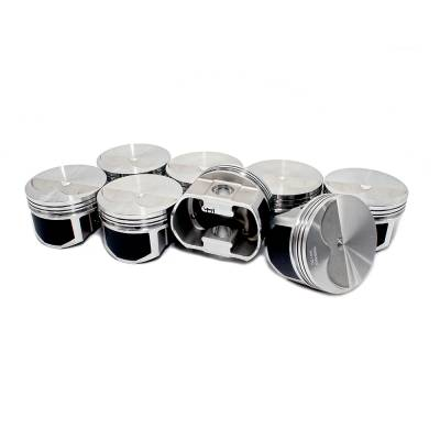 Wiseco - Wiseco PTS504A4 Pro Tru Pistons Small Block Chevy 383 2V Flat Top .40 Over Bore