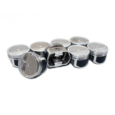 Wiseco - Wiseco PTS508A3 Pro Tru Pistons Small Block Chevy 350 Reverse Dome .30 Over Bore