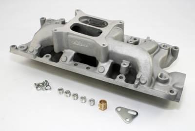 Intake Manifolds - Carbureted Intake Manifolds - Assault Racing Products - SBF Ford 302 Air Gap Aluminum Intake Manifold - Dual Plane Small Block 289 5.0