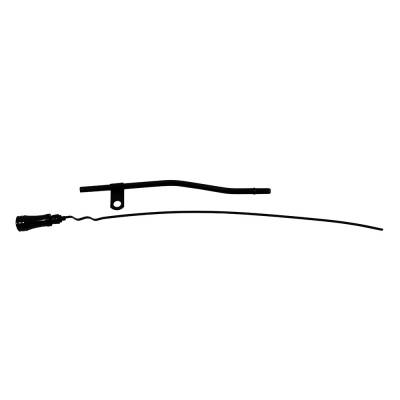 Oil Pans & Components - Dipsticks & Dipstick Tubes - Assault Racing Products - SBF Ford Black Engine Oil Dipstick with Billet Handle 289 302 351W 1962-1985