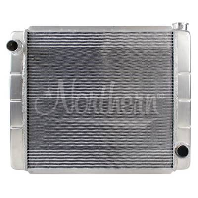 "Northern Radiator - 24"" X 19"" Northern Race Pro Aluminum Radiator- 2 Row"