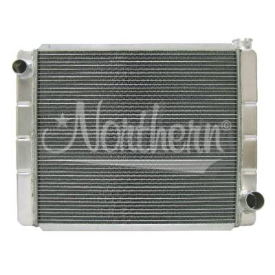 "Northern Radiator - NOR 209674  22"" X 19"" Northern Race Pro Aluminum Radiator- 2 Row"