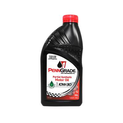 Oil, Fuel, Fluids, & Cleaners - Engine Oil - PennGrade Motor Oil - Penn Grade10W30 Racing Oil