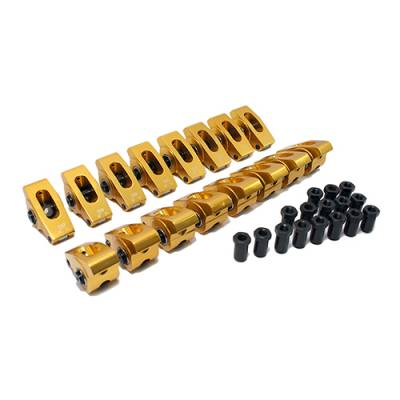 Assault Racing Products - SBF Small Block Ford 1.6 Ratio Extruded Aluminum Roller Rockers Arms 3/8 Stud