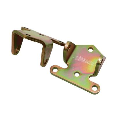 Engine Components & Valvetrain - Accessory Mounting Brackets - Assault Racing Products - SBC 283 327 350 400 Small Block Chevy Solid Engine Tall Motor Mounts Racing