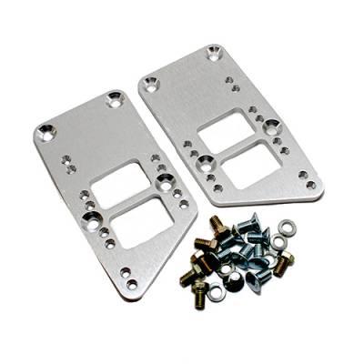 LS Swap Kits & Components - LS Swap Kits - KMJ Performance Parts - LS1 LS2 Engine Swap Adapter Plate 3 Bolt Engine/Motor Mounts LSX LQ9 SBC BBC