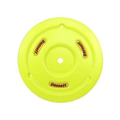 Circle Track - Wheel Covers & Rings - Bassett Wheel - Bassett 5PLG-FLOYEL Fluorescent Yellow Plastic Wheel Cover (Mud Plug) IMCA USRA