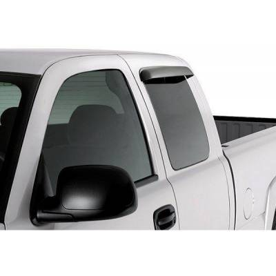 Auto Ventshade - AVS 15955 Window Rear Tape-On 2 Piece Ventvisor 1997-2003 Ford F-150 F-250 Smoke