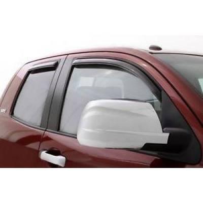 SUV Accessories - Auto Ventshade - AVS 194253 In-Channel Ventvisor Window Deflector for 2007-2012 Hyundai Santa Fe
