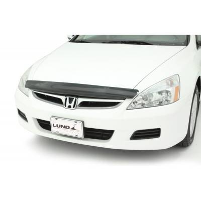 Exterior - Bug Shields - Auto Ventshade - AVS 20317 Carflector Stone and Bug Deflector Smoke 2003-2007 Honda Accord Sedan