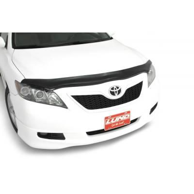 Exterior - Bug Shields - Auto Ventshade - AVS 20449 Carflector Stone and Bug Deflector - Smoke - 2007-2011 Toyota Camry