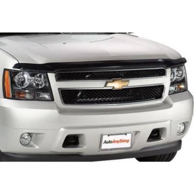Exterior - Bug Shields - Auto Ventshade - AVS 21946 Bug Shield Hoodflector Smoke 2015-2019 Chevrolet Silverado 2500 3500 Excludes Induction System Hood
