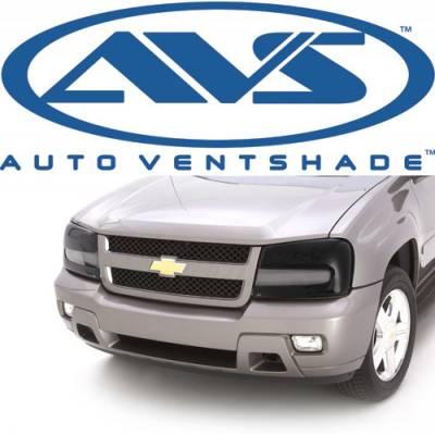 Lighting - Light Guards & Covers - Auto Ventshade - AVS 37724 Headlight Covers Pair Smoke 2007-2013 Chevy Silverado 1500