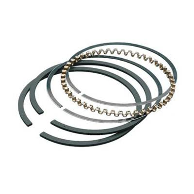 Hastings Manufacturing - Hastings CHEVY 350 383 SBC Plasma Moly Piston Rings 40 Over 3mm Oil Ring