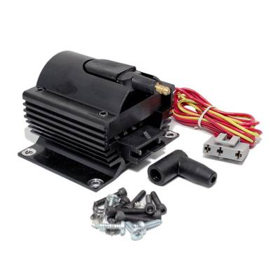 Ignition & Electrical - Ignition Coils - Assault Racing Products - Assault Racing Anodized BLACK 50KV Low .35 OHM Resistance Ignition Super Coil