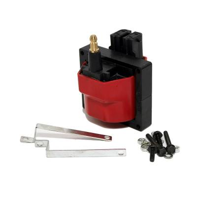 Ignition & Electrical - Ignition Coils - Assault Racing Products - GM EFI 1985-1995 Dual Connector E-Core Ignition Coil V6 / V8 TBI SBC BBC Chevy