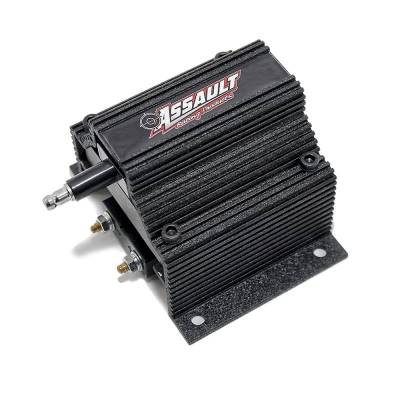 Ignition & Electrical - Ignition Coils - Assault Racing Products - Assault Racing Anodized BLACK High Output Low OHM Resistance Ignition Super Coil