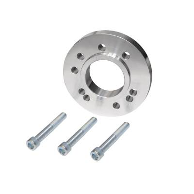 Cooling - Pulleys, Belts & Kits - Assault Racing Products - Billet Machined Chevy SBC 350 400 BBC 396 454 Ford Gilmer Crank Pulley Spacer