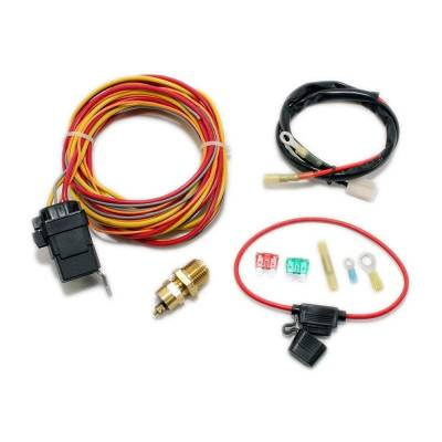 Cooling - Electric Fans & Components - Assault Racing Products - Electric Cooling Fan Wiring Install Kit 185/165 Thermostat 50 Amp Relay