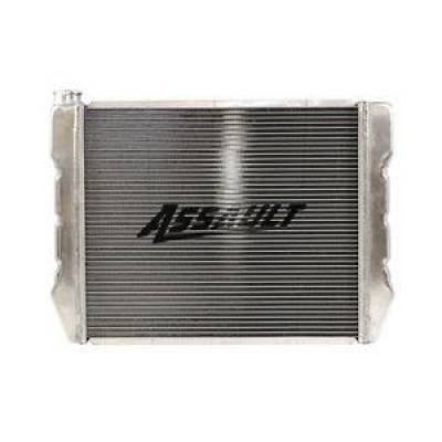 "Cooling - Radiators - Assault Racing Products - GM Chevy Style 19""x24"" Aluminum Universal Radiator Heavy Duty Extreme Cooling"