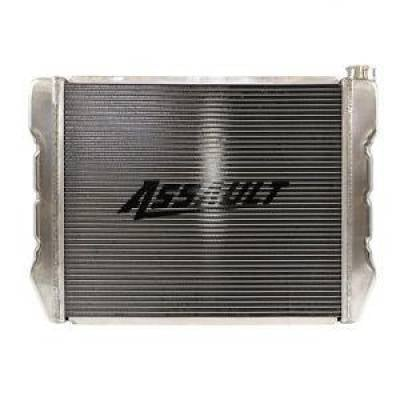 "Cooling - Radiators - Assault Racing Products - Ford Mopar Style 19""x24"" Aluminum Universal Radiator Heavy Duty Extreme Cooling"
