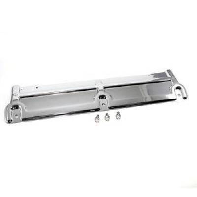 "Cooling - Miscellaneous Cooling Components - Assault Racing Products - 24"" Chrome Steel Radiator Support Panel Chevy Chevelle 1968-1973 Nova 1968-1979"