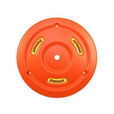 Bassett Wheel - Bassett 5PLG-ORG Orange Plastic Wheel Cover (Mud Plug) IMCA USRA UMP