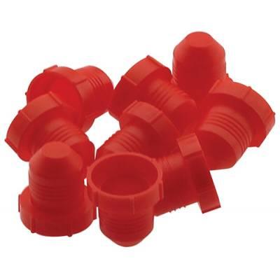 Fragola - Fragola 900906 8 AN Plastic Hose Fitting Dust Plug - 10Pk IMCA USRA NHRA