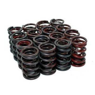 """Valvetrain & Camshaft Components - Valve Spring Locks & Retainers - KMJ Performance Parts - Chevy 1.44""""; Dual Coil Valve Springs .525-.600 Lift for Solid Lifter Cams SBC"""