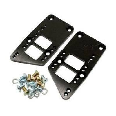 LS Swap Kits & Components - LS Swap Kits - KMJ Performance Parts - LS1 LS2 Engine Swap Black Adapter Plate 3 Bolt Engine/Motor Mounts LSX LQ9
