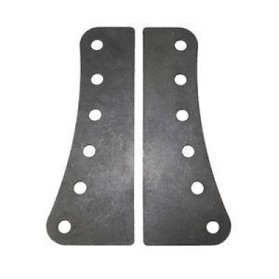 "Steering & Suspension - Chassis Fabrication Tabs & Brackets - KMJ Performance Parts - 1 Pair Pack Trailing Arm Brackets 1/8""; Thick Steel 1/2""; Mounting Holes Weldable"
