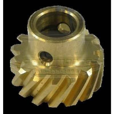 Distributors & Components - Distributor Gears, Shafts, Hold Downs & Components - KMJ Performance Parts - Ford 289 302 351W Bronze Distributor Gear .467 in Diameter Small Block SBF