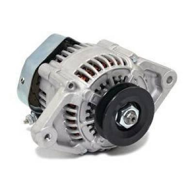 Starting & Charging - Alternators - KMJ Performance Parts - Mini 69 AMP GM Denso Style Alternator V Belt 12V One Wire Internal Regulator