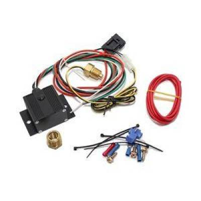 Cooling - Electric Fans & Components - KMJ Performance Parts - Black Adjustable Electric Cooling Fan Controller Wiring Harness 150-240 Degree