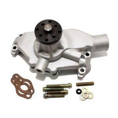 Cooling - Water Pumps - KMJ Performance Parts - Small Block Chevy Corvette Circle Track Aluminum High Flow 350 Water Pump SBC