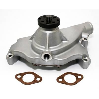 "Cooling - Water Pumps - KMJ Performance Parts - Big Block Chevy 396 454 High Volume Short Aluminum Water Pump Natural 5/8""; Pilot"