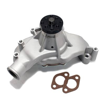 "Cooling - Water Pumps - KMJ Performance Parts - Big Block Chevy 454 HV High Volume Long Aluminum Water Pump Natural 5/8""; Pilot"