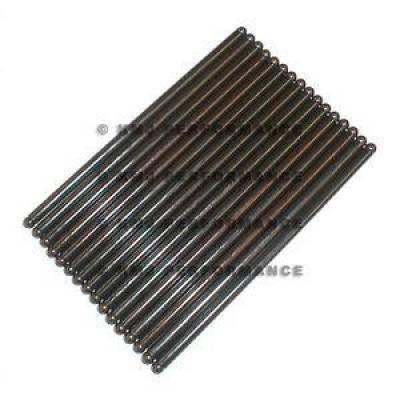 "Valvetrain & Camshaft Components - Pushrods - KMJ Performance Parts - Chevy Hardened Steel 7.944""; Welded Tip Pushrods Set +.150 305 327 350 383 400"