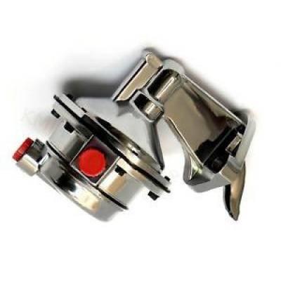 Big Block Mopar Chrome Fuel Pump 8PSI Mechanical 80GPH - 383 400 413 440 Dodge