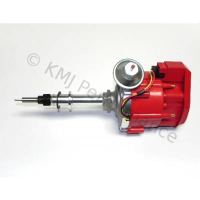 Distributors & Components - Distributors - KMJ Performance Parts - Chevy In-line 6 Cyl HEI Distributor 65K Coil Inline 230 250 292