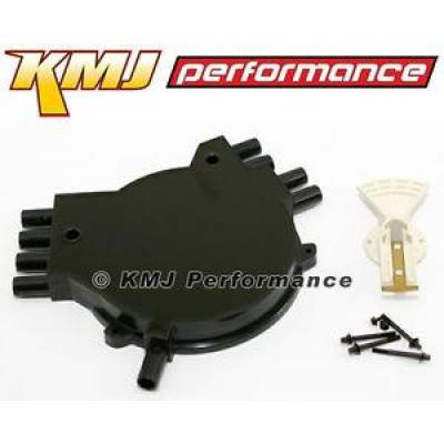 Distributors & Components - Distributor Cap & Rotor - KMJ Performance Parts - 1992-1994 GM Chevy Pontiac LT1 Optispark Distributor Cap and Rotor Kit 92 93 94