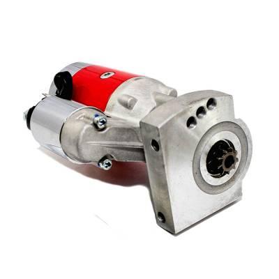 KMJ Performance Parts - LS1 Engines Chevy 3HP Hi Torque Hitachi / Mini Tilton Style Starter Red LSX LS7