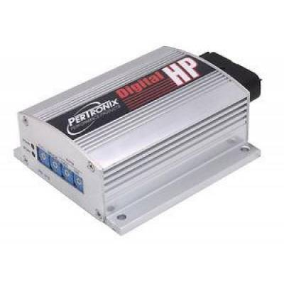 Ignition Boxes, Modules & Rev Limiters - Multi-Spark CDI Boxes & Components - Pertronix Performance Products - PerTronix Digital HP Multiple Spark Ignition System Box w/ Rev Limiter Silver